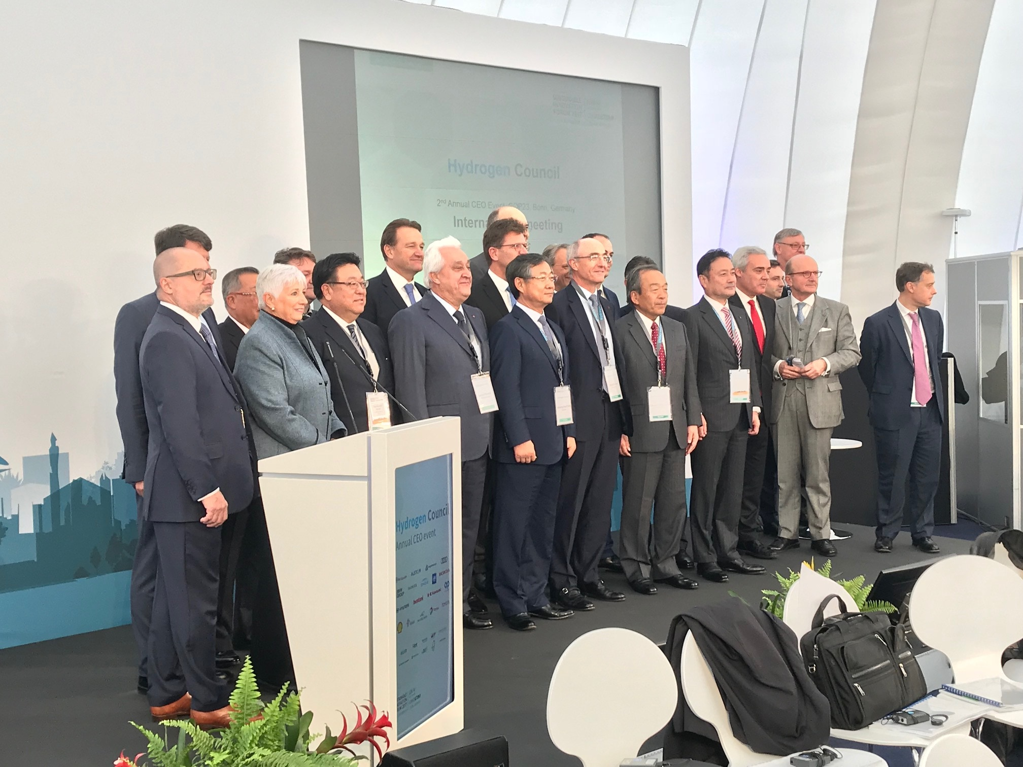 L'HYDROGEN COUNCIL PRESENTE L'HYDROGENE COMME UN PILIER DE LA TRANSITION ENERGETIQUE