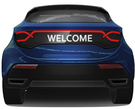 Discover Plastic Omnium's latest innovations at NAIAS Detroit Auto Show 2018: smart bumpers and tailgates