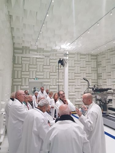 Shareholders Visit at the International Research & Development Center α-Alphatech in Compiègne (France)